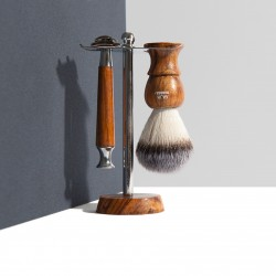 Support pour blaireau et rasoir - Ça va barber - Heureux comme un Prince