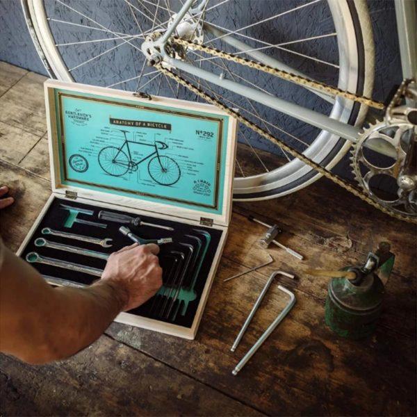 Boîte à outils pour vélo - Gentlemen's Hardware & Heureux comme un Prince