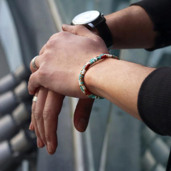 bracelet-heishi-nakos-4-mm heureux comme un prince