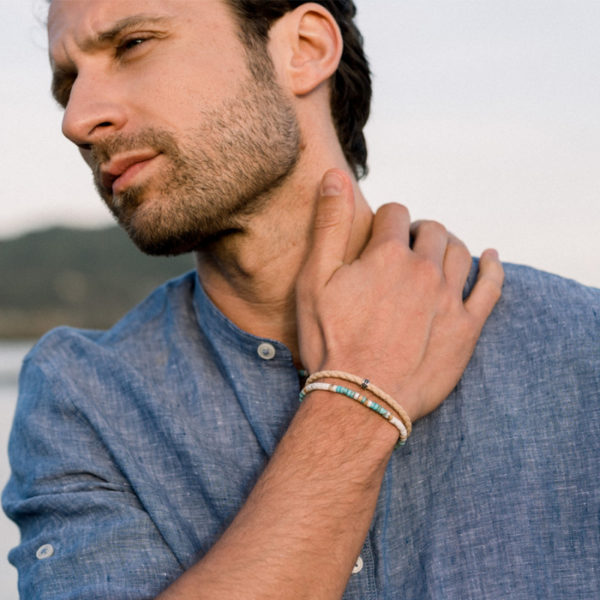 bracelet-heishi-osceola-4-mm heureux comme un prince