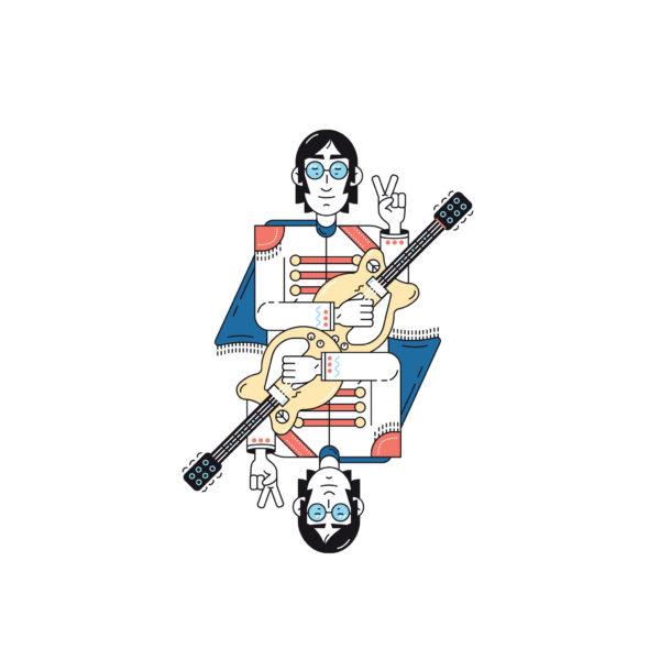 Jeu de 54 cartes - Napoléon Editions & Heureux comme un Prince