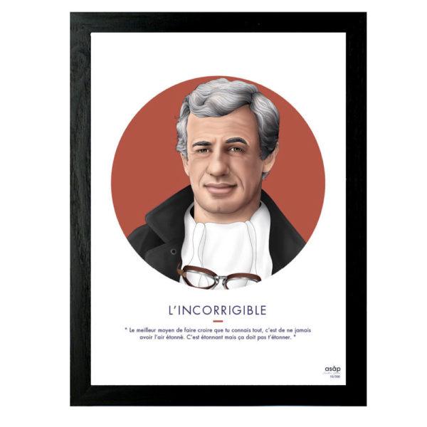 Affiche Le Provocateur Jean-Paul Belomondo - ASAP & Heureux comme un Prince