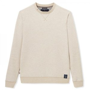 sweat-paul beige gentle factory heureux comme un prince