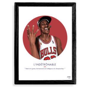 Affiche Michael Jordan L'indetronable- ASAP & Heureux comme un Prince