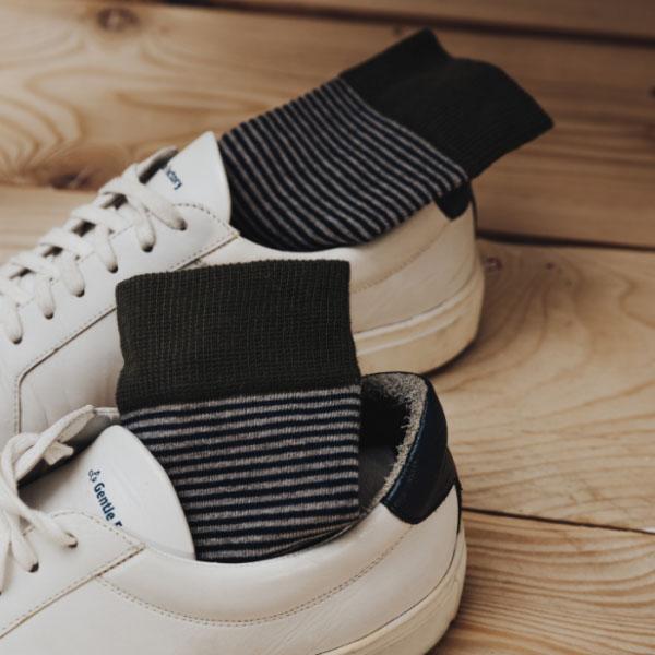 chaussettes coton marinière Gentle Factory & Heureux comme un Prince
