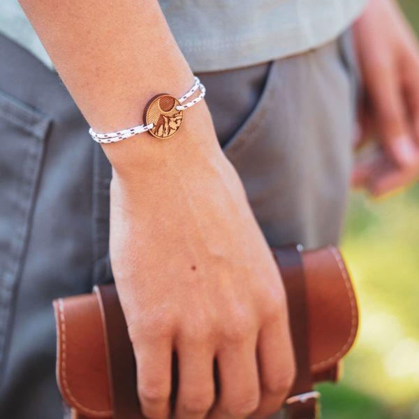 Bracelet en bambou l'Alpin - DWYT Lyon & Heureux comme un Prince (