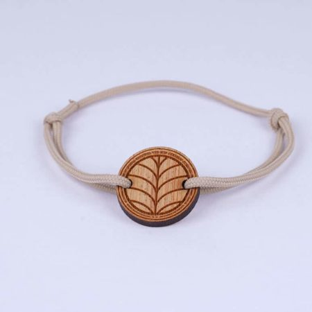 Bracelet en bambou le naturel - DWYT Lyon & Heureux comme un Prince