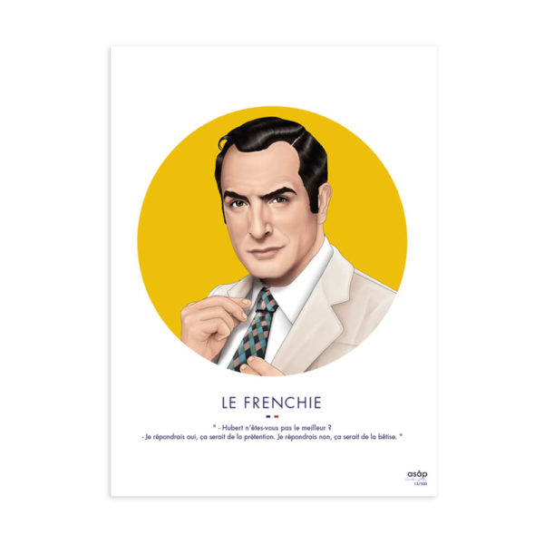 frenchie-jaune-affiche-heureux comme un prince-asap
