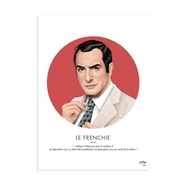 frenchie-rouge-affiche-heureux comme un prince-asap1