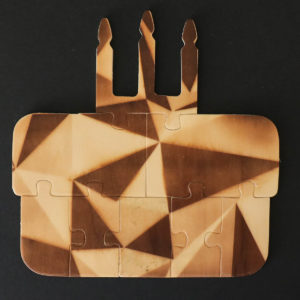 Carte puzzle en bois Joyeux anniversaire Luckies - Heureux comme un Prince