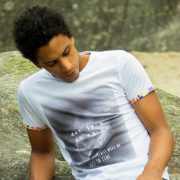 Tee-shirt Alpes Blue Telegram - Heureux comme un Prince